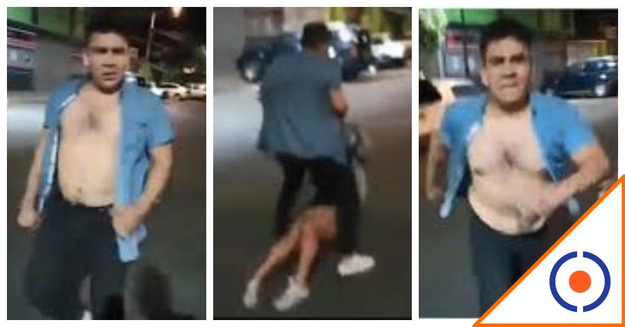 #LordAjusco: Graban a sujeto golpeando a una mujer; ya lo busca la policía