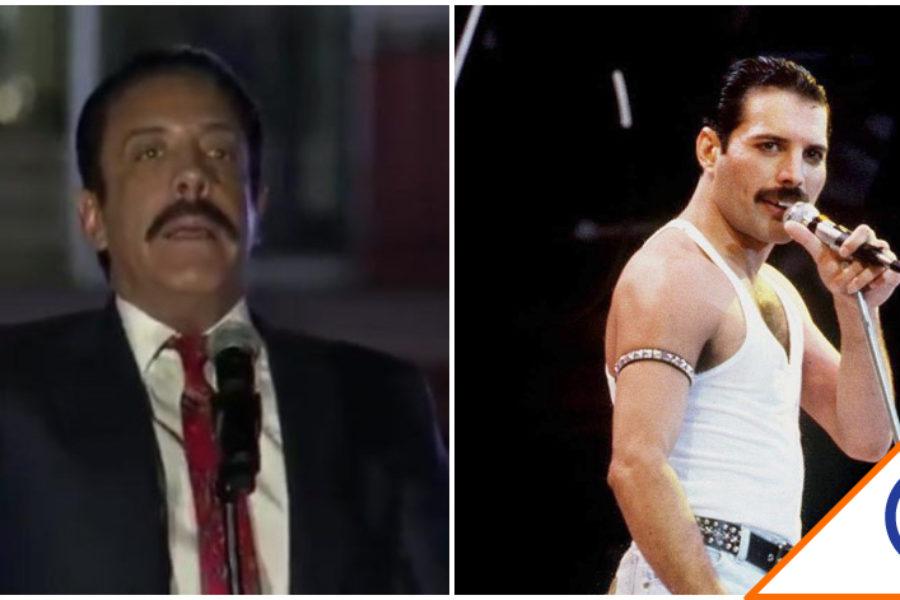 #Viral: Comparan a Omar Fayad con Freddie Mercury… Ingenio mexicano