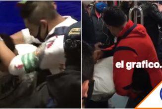 #Viral: Ciudadano detiene a asaltante en metro de la CDMX… Héroe sin capa