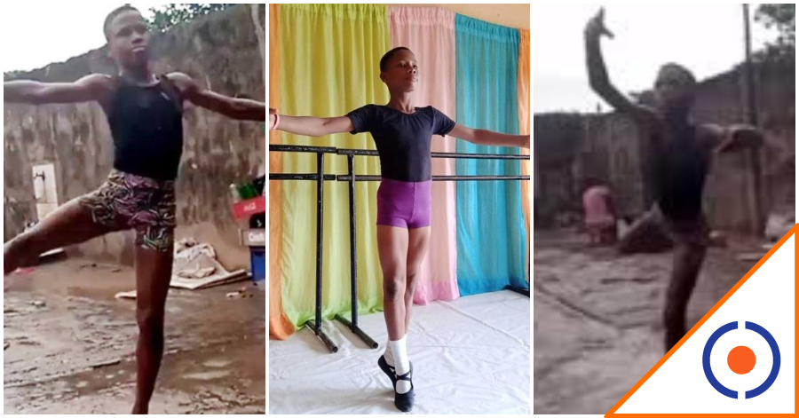 #Viral: Niño de Nigeria baila ballet bajo la lluvia y se gana beca en Nueva York