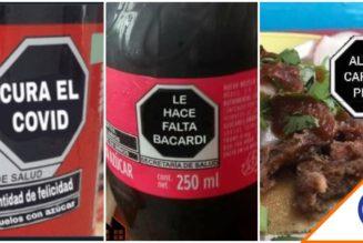 #Viral: Los mejores memes del nuevo etiquetado de alimentos y bebidas… joyas