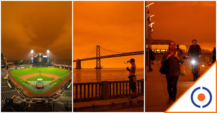 #Viral: California se pinta de rojo por fuertes incendios… increíbles imágenes