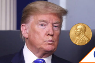 #Viral: Proponen a Donald Trump para el Nobel de la Paz