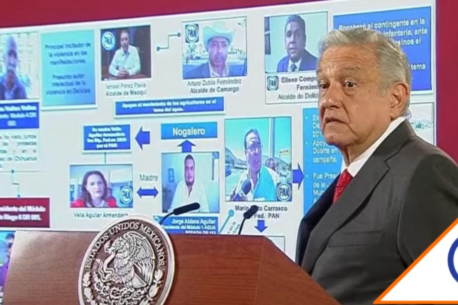 #Chihuahua: López Obrador acusó al PRI y al PAN de tener negocios con el agua
