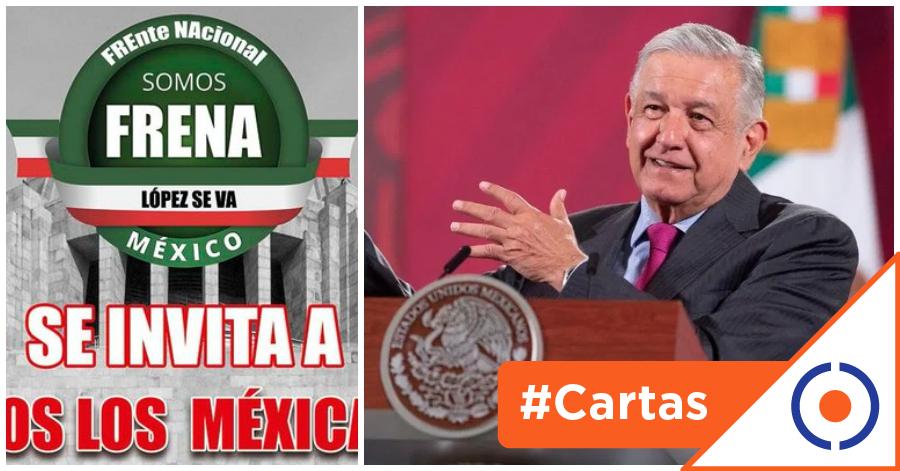 #CartasDeUnCiudadano: FRENAAA, la urgencia de una oposición ciudadana informada