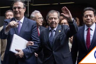 #Morena: Muñoz Ledo amenaza con expulsar del partido al Canciller Ebrard