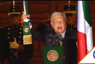 #Grito: El Presidente de México celebra la Independencia en el desolado Zócalo