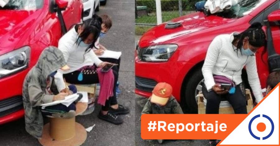 #Reportaje: Celular, la difícil solución del regreso a clases