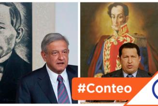 #Conteo: 8 semejanzas entre el régimen chavista y el Gobierno de Andrés Manuel