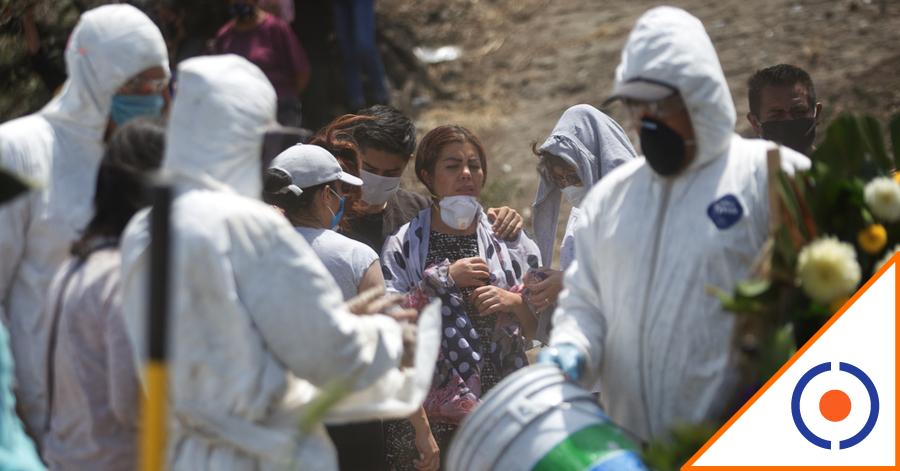 #Desgarrador: Pandemia ha dejado más de 260 mil decesos en México
