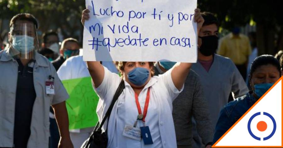 #Covid19: Médicos viralizan duro mensaje contra estrategia de salud del Gobierno