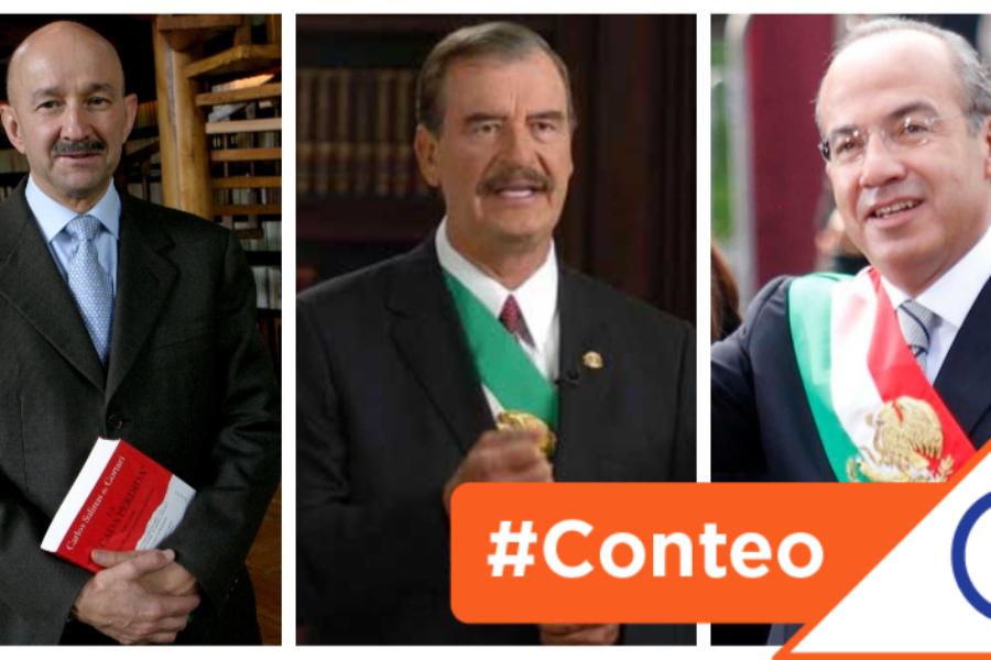 #Conteo: 7 polémicas disputas de López Obrador con expresidentes de México