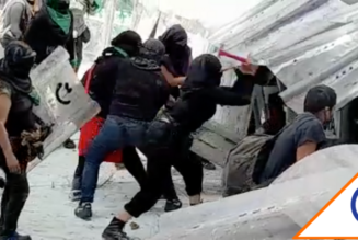 #CDMX: Marcha en favor del aborto es impedida por la policía; deja 12 heridos
