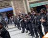 #CDMX: Piden renuncia de López Obrador y policías les impiden el paso al Zócalo
