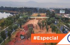 #CDMX: Sheinbaum destruye el último humedal de Xochimilco con un puente
