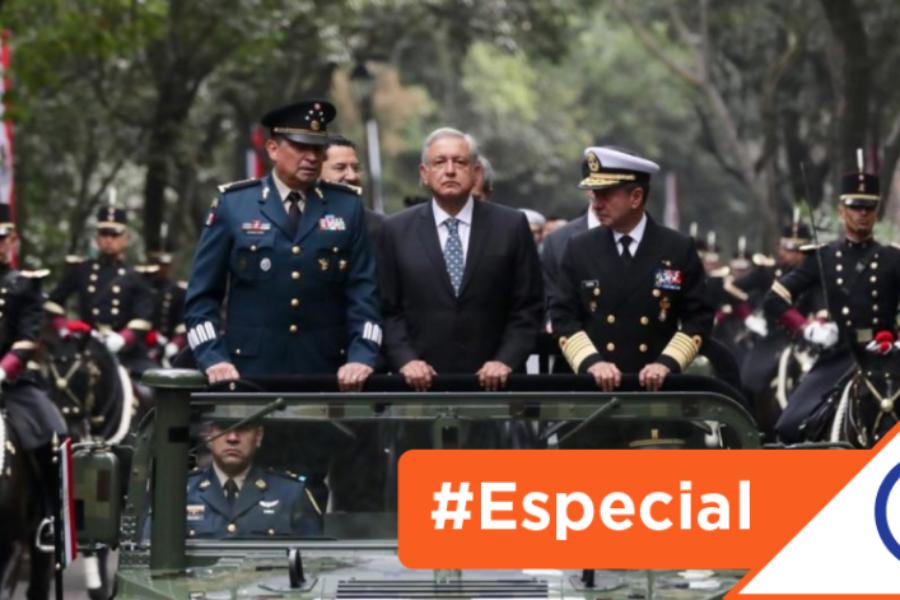 #Especial: López Obrador recurre al Ejército y abre la puerta al militarismo