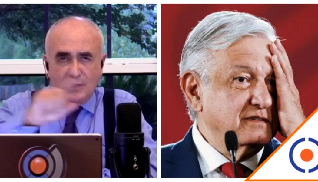 #FRENAAA: Ferriz enfrenta a Obrador, transmitirá en el Zócalo hasta que renuncie