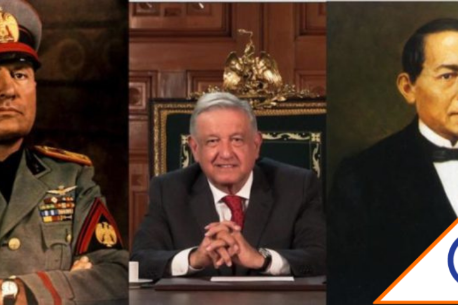 #Viral: Revientan en redes a Obrador por hablar de Benito Mussolini ante la ONU