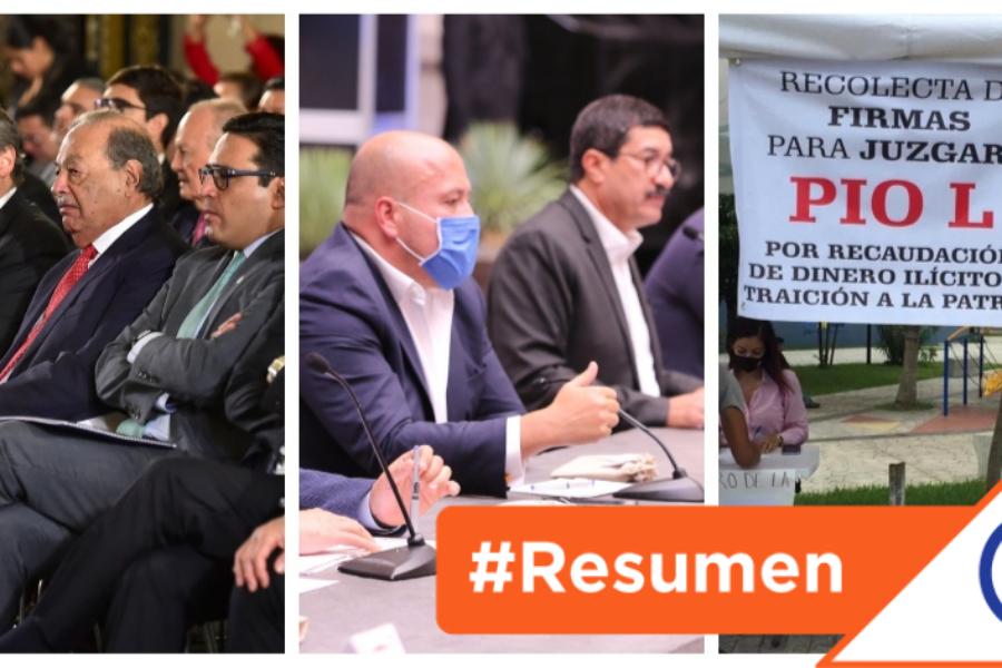 #ElResumenDelDía: Las 5 noticias más importantes de este lunes