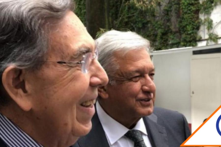 #Covid19: López Obrador informó que Cuauhtémoc Cárdenas padece coronavirus