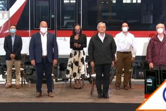 #Gobierno: Andrés Manuel y Alfaro paran pleito e inauguran Tren de Guadalajara