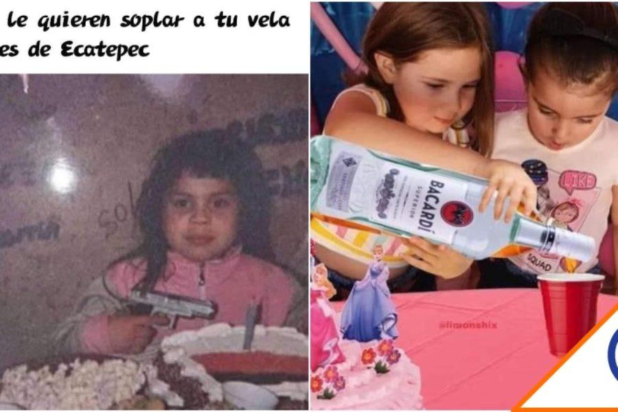 #Joya: Checa los mejores memes de la niña que apaga la vela de cumpleaños a su hermana… Puras risas