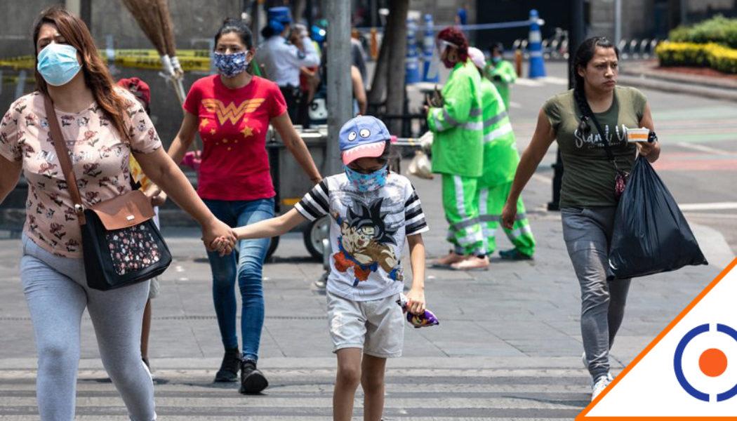 #Covid19: Reportan 6 mil 472 nuevos contagios en México