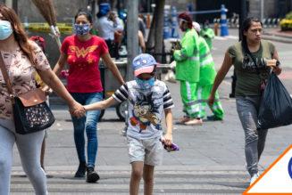 #Covid19: Mantiene CDMX semáforo rojo en 158 colonias