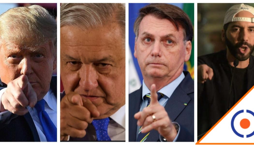 #SIP: Piden a Obrador, Trump, Bolsonaro y Bukele cesen ataques contra la prensa