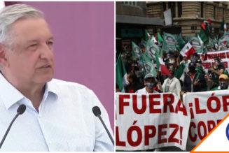 "#Viral: Obrador responde tras marcha… ""quieren conservar el régimen corrupto"""