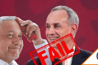 #Irresponsable: Gatell dijo que cubrebocas no servía, ahora pide usarlo siempre