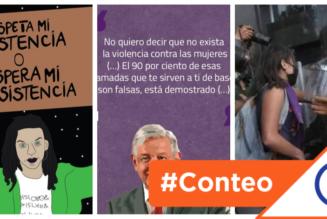#Conteo: 6 colectivos que protestan contra la política misógina de Andrés Manuel