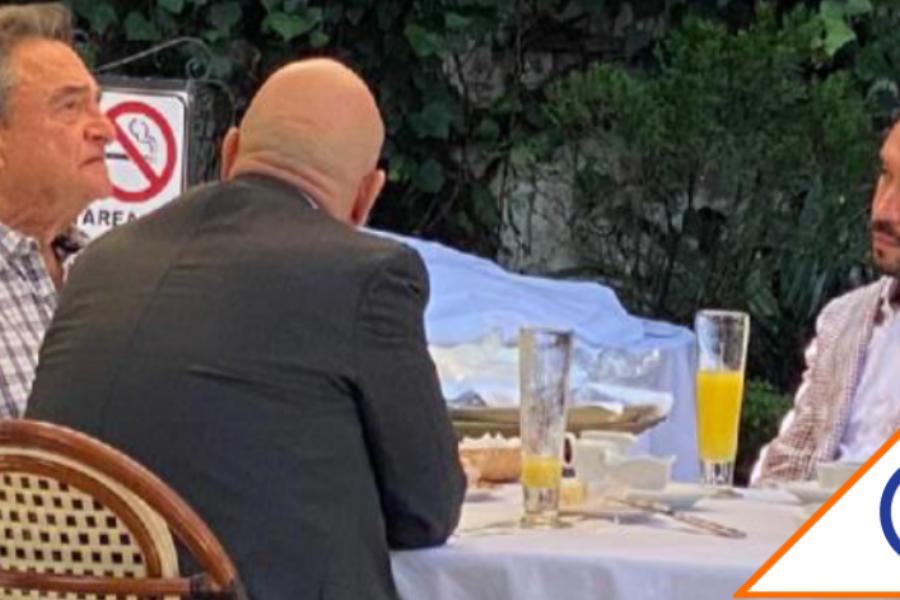 #Corrupción: Captan a Pío López en lujoso restaurante de CDMX con empresarios