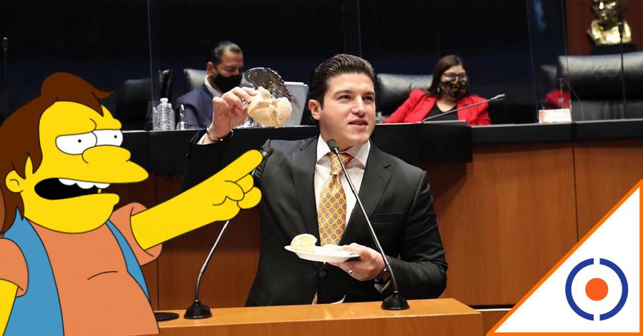 #Fosfo: Samuelito García explica convenio fiscal con pan de muerto… ¡No memes!