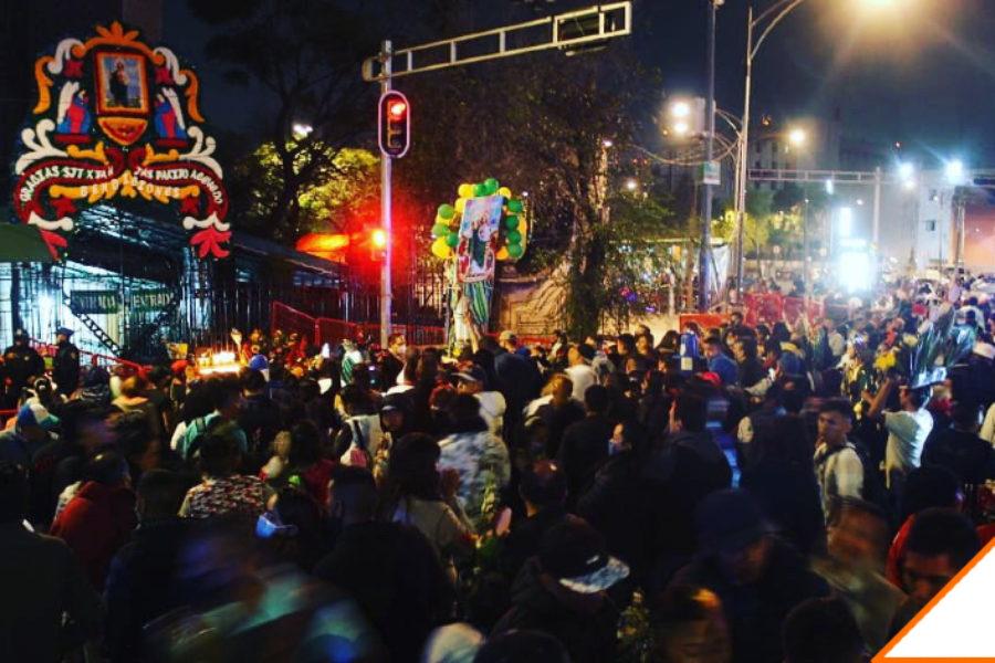 #CDMX: En medio de la pandemia, arman fiesta en San Hipólito por San Judas