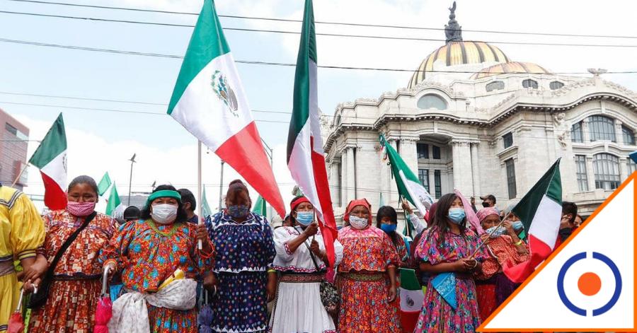 #Viral: Pueblos indígenas se cansaron de promesas de Obrador, marcharon unidos