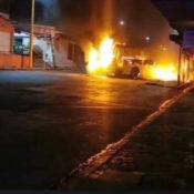 #NoQueNo: Realizan bloqueos y queman autobuses en varias partes de Veracruz