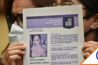 #Feminicidio: Gobernador de Michoacán confirmó la muerte de Xitlali Ballesteros