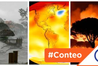 #Conteo: 6 desastres que aumentan cada año porque se nos calentó… el planeta