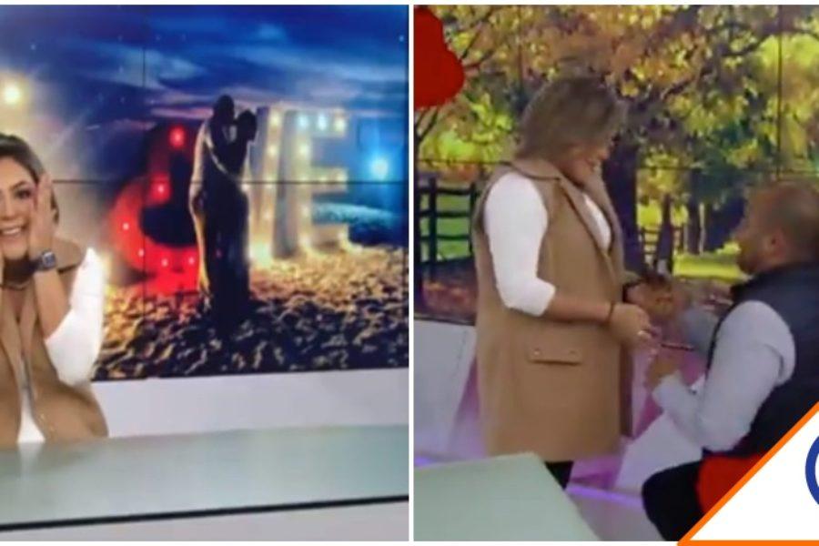 #Viral: Revientan al Canal Once por transmitir propuesta de matrimonio