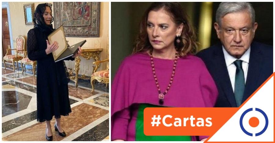 #CartasDeUnCiudadano: El polémico viaje de la esposa 'de López Obrador' a  Europa