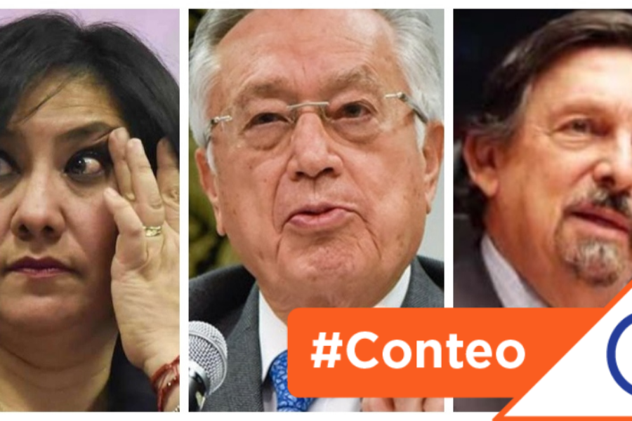 #Conteo: 9 políticos inmorales que supuestamente combaten la corrupción en México