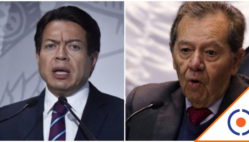 #Viral: Mario Delgado llama dirigente espurio a Muñoz Ledo… Morena se fractura