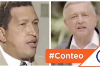 #Conteo: 6 promesas similiares entre Hugo Chávez y Andrés Manuel