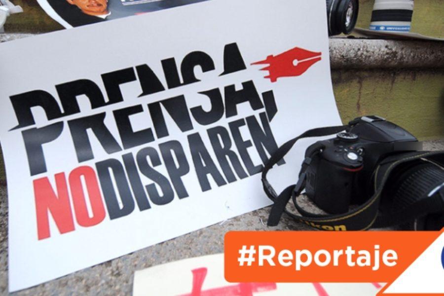 #Reportaje: ¿Con qué se protege a los periodistas ahora?