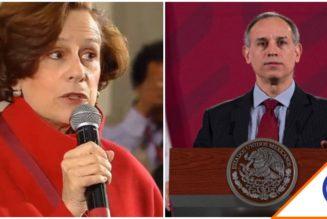 #Viral: Denise Dresser revienta las redes por corregir tuit de López-Gatell