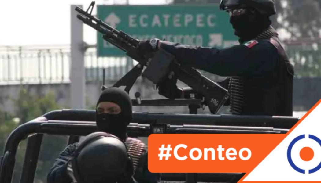 #Conteo: 6 municipios más inseguros de México… gobernados por Morena