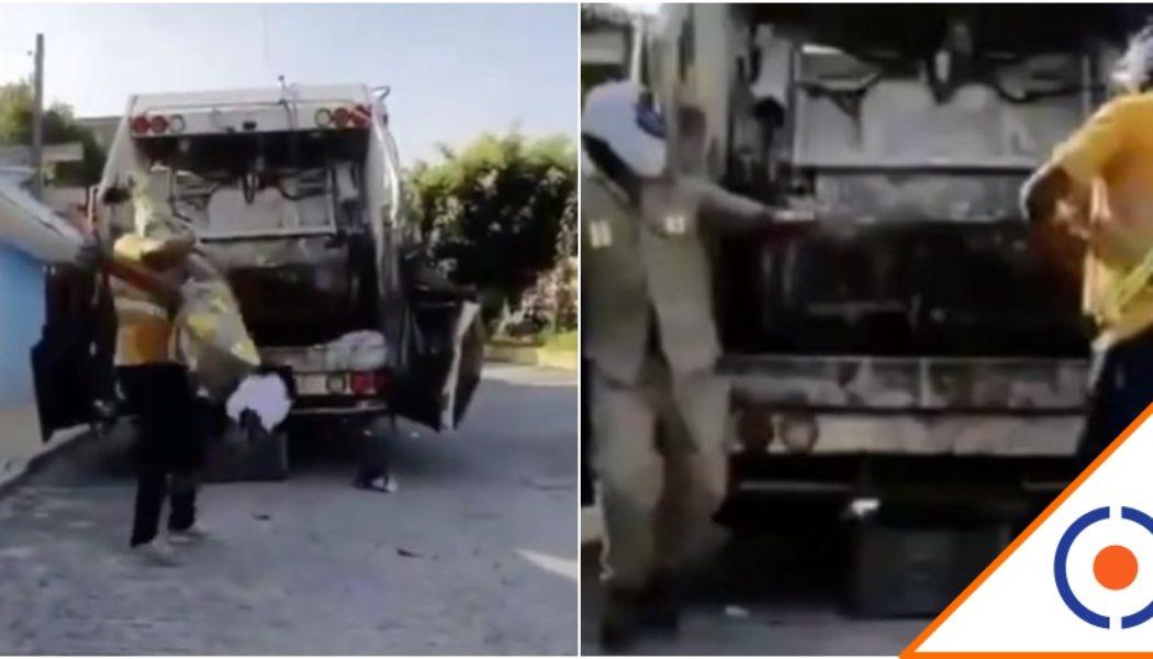 #Viral: Recoge basura se hacen viral en TikTok… Salieron buenos para la lucha