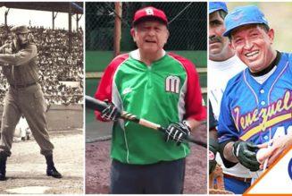 #Viral: Béisbol, el pasatiempo preferido de los 'dictadores' de América Latina