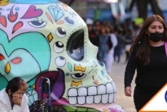 #Covid19: Retiran cráneos de Reforma tras pésima planeación del gobierno